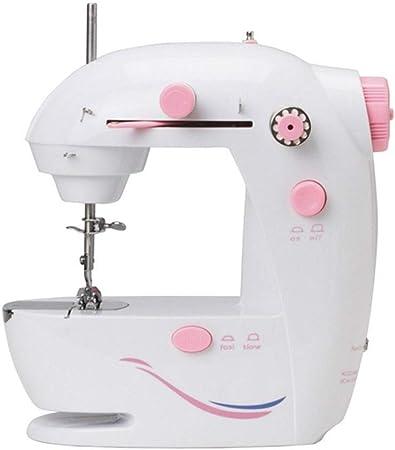 Máquinas de Coser Mini máquinas de coser Costura casera for comer Máquina de coser eléctrica pequeña