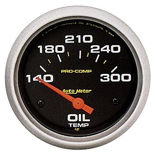 [Auto Meter 5447 Pro-Comp Electric Oil Temperature Gauge] (Autometer Pro Comp Pressure Gauge)