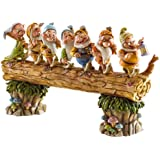 """Disney Traditions by Jim Shore Snow White and the Seven Dwarfs figurine """"Homeward Bound"""" (4005434)"""