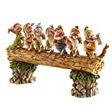 Disney Traditions by Jim Shore Snow White and the Seven Dwarfs Heigh-ho Stone Resin Figurine, 8.25""