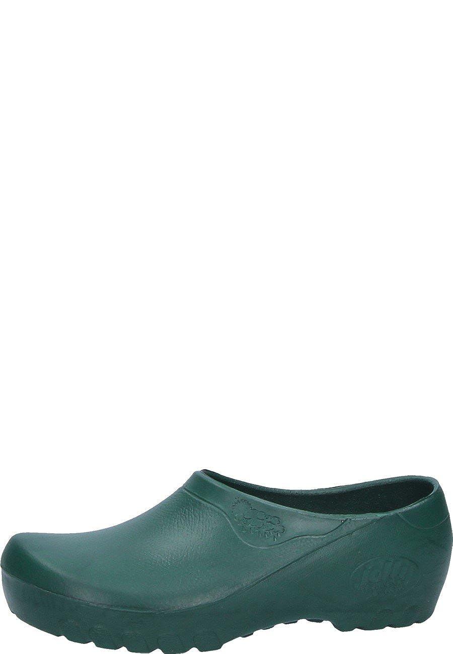 Jolly Fashion by Alsa  r grüne PU Schuh mit mit mit auswechselbarem Korkfußbett 37c2d9