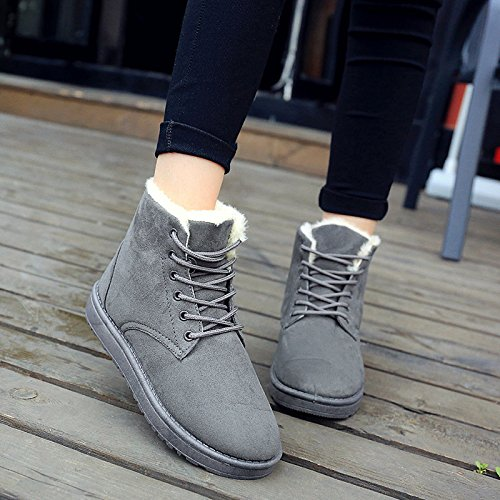 Winter Grey Winter Boots Boots fqFnO