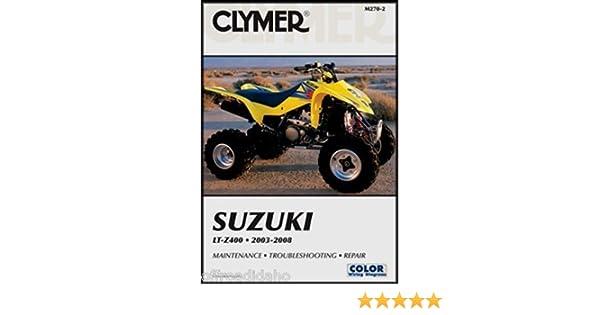 amazon com 2003 2006 suzuki lt z400 service manual suzuki rh amazon com suzuki ltz 400 repair manual free download suzuki ltz 400 service manual