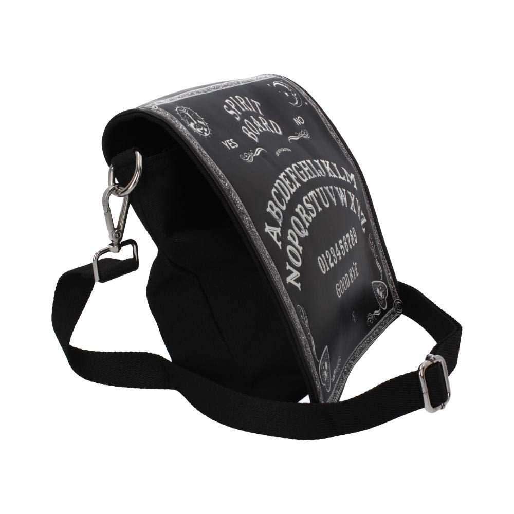 Nemesis Now Spirit Board Embossed Shoulder Bag Black 25cm