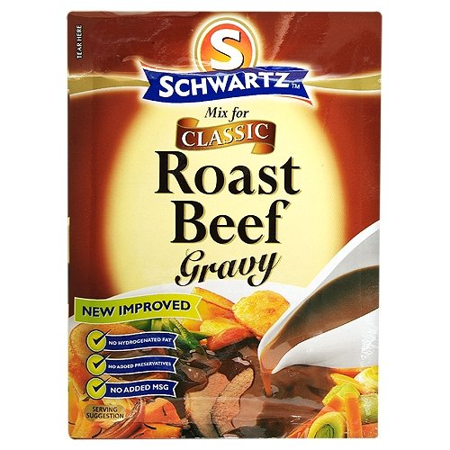 Schwartz Mix for Roast Beef Gravy 27 g (Pack of 12)