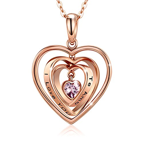 adan-banfi-rose-gold-sterling-silver-rotating-heart-pendant-necklace-charm-jewelry-w-cubic-zirconia-