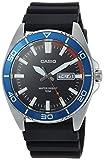 Casio Men's 'Sports' Quartz Resin Casual Watch, Color:Black (Model: MTD-120-1AVCF)