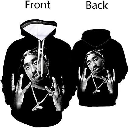 Fashion Old School Hip hop Rapper 3d Print Men//Womens Hoodie Sweatshirt Pullover