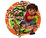 Go Diego Go Cake Toppers Frosting Sheets Edible Image
