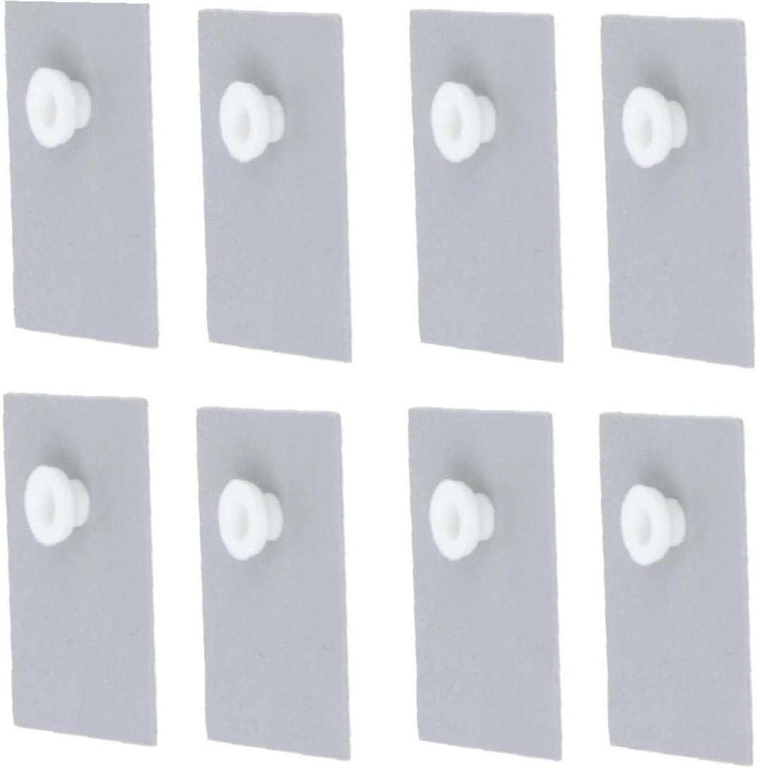 Tdaxx Lm317 10 X To-220 Termici Dissipatore Insulator Rilievi W//Isolante Particelle Per Lm78xx