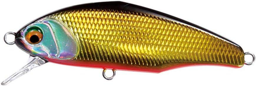 minansostey Multicolor Wobblers Mini Topwater Crank Bait Fake Hard Floating Fishing Lures