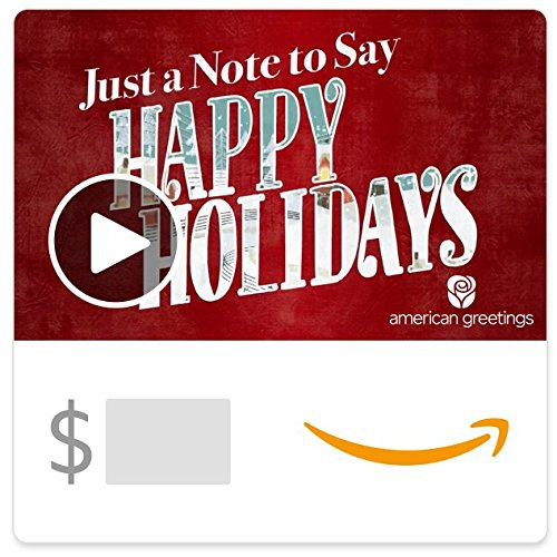 Happy Holidays - Animated eGift Card