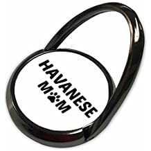 3dRose Xander animal quotes - Havanese mom, picture of a dog paw on a white background - Phone Ring (phr_256571_1)