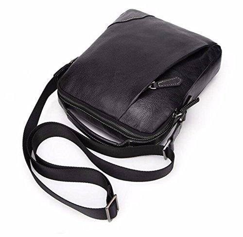Bag bolsa hombro pulgadas Cross cuero de de de cuero 10 de color puro negocios solo Bolso de aceite Surnoy bolso cera de fq6BII