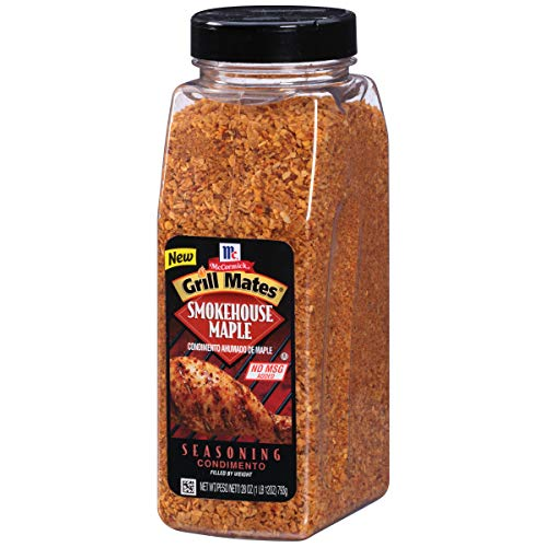 Smoked Pork Loin - McCormick Grill Mates Smokehouse Maple Seasoning, 28 oz