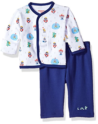 Magnificent Baby Baby Infant Magnetic 2 Piece Top with Pant Set