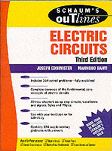 Of electric circuits pdf edition schaums outline 6th
