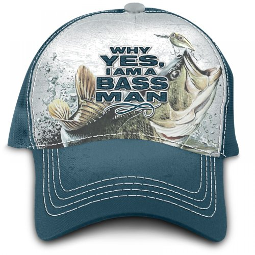 "Buck Wear""Why Yes, I Am A Bass Man"" Fishing Hat"
