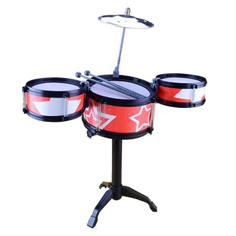 Black Temptation Juguetes para bebés Juego de Tambores para niños Instrumentos Musicales de percusión para niños