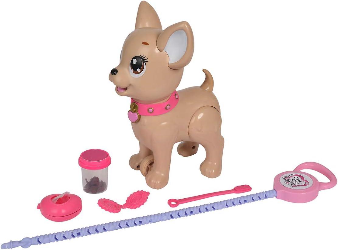Simba Poo Puppy Perro CHI Love Paseo PO ¡Dale DE Comer Y PASEALO hasta Que Haga Popo, Multicolor (5893264)