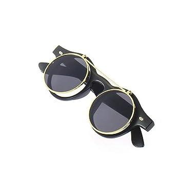 Zinniaya Gafas clásicas Steampunk Goth Gafas Gafas de Sol ...