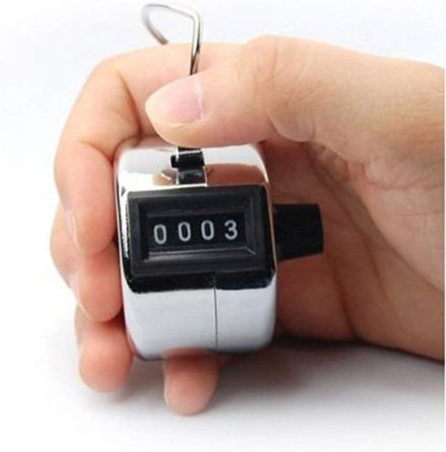 Horsky Handz/ähler Bahnenz/ähler Silber mechanischer Clicker mit Fingerring