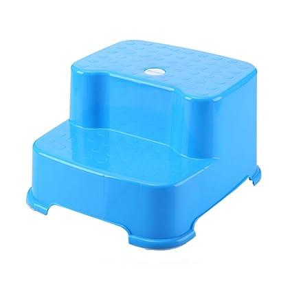 Wondrous Amazon Com Lxla Child Plastic Step Stool Bathroom Non Slip Evergreenethics Interior Chair Design Evergreenethicsorg
