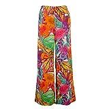 Lauren Ralph Lauren Womens Plus Floral Print Flat Front Casual Pants