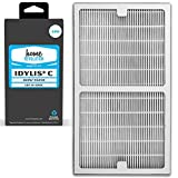 Cheap Home Revolution 4 Replacement HEPA Filters, Fits Idylis IAP-10-200 and IAP-10-280 Air Purifiers and Type C Parts 0412555 and IAF-H-100C