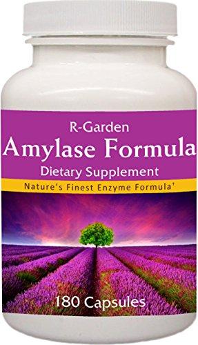 R-Garden Amylase Formula, 180 caps.