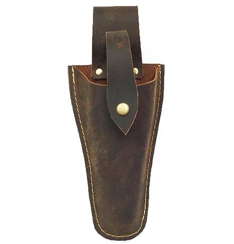 Funda de piel para cortar herramientas, cinturón, bolsa para alicates, tijeras o cuchillos de jardín, bolsa de cuero para adaptarse a Wave Multi-Tool ...