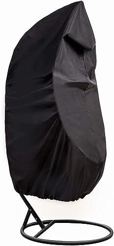 Hanging Chair Covers,Waterproof Patio Swing Chair Covers,Heavy Duty Egg Chair Covers 74.8 L x45.3 W HZC01-A