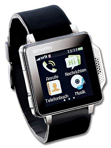 Reloj smartwatch con Pantalla táctil, Hora, Reproductor ...
