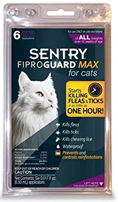 FiproGuard Maximum 6-Month Cats Over 12 Weeks, Purple by Sargeants/Sentry
