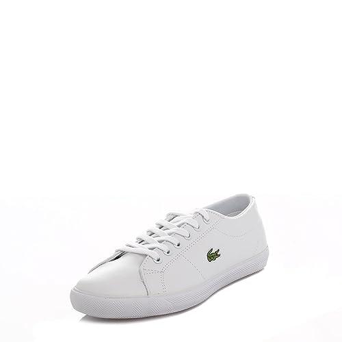 Lacoste Niños Blanco Marcel GT2 Zapatillas: Amazon.es: Zapatos y complementos