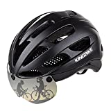 KINGBIKE-Fully-Bike-Helmet-with-UV400-Protection-Eye-Shield-Can-Over-GlassesFull-coverage-Shell-Enhance-Safety3D-Cutting-Comfotable-PadsAdjustable-Size-for-Men-Women