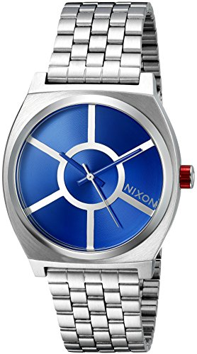 Nixon Mens Time Teller SW R2D2 Blue Stainless Steel Bracelet Watch