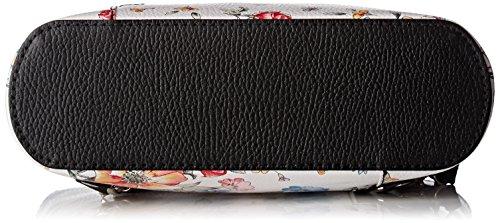 Épaule Portés fiori 80056 nero Chicca Multicolore Borse Sacs SqxRc6Iw