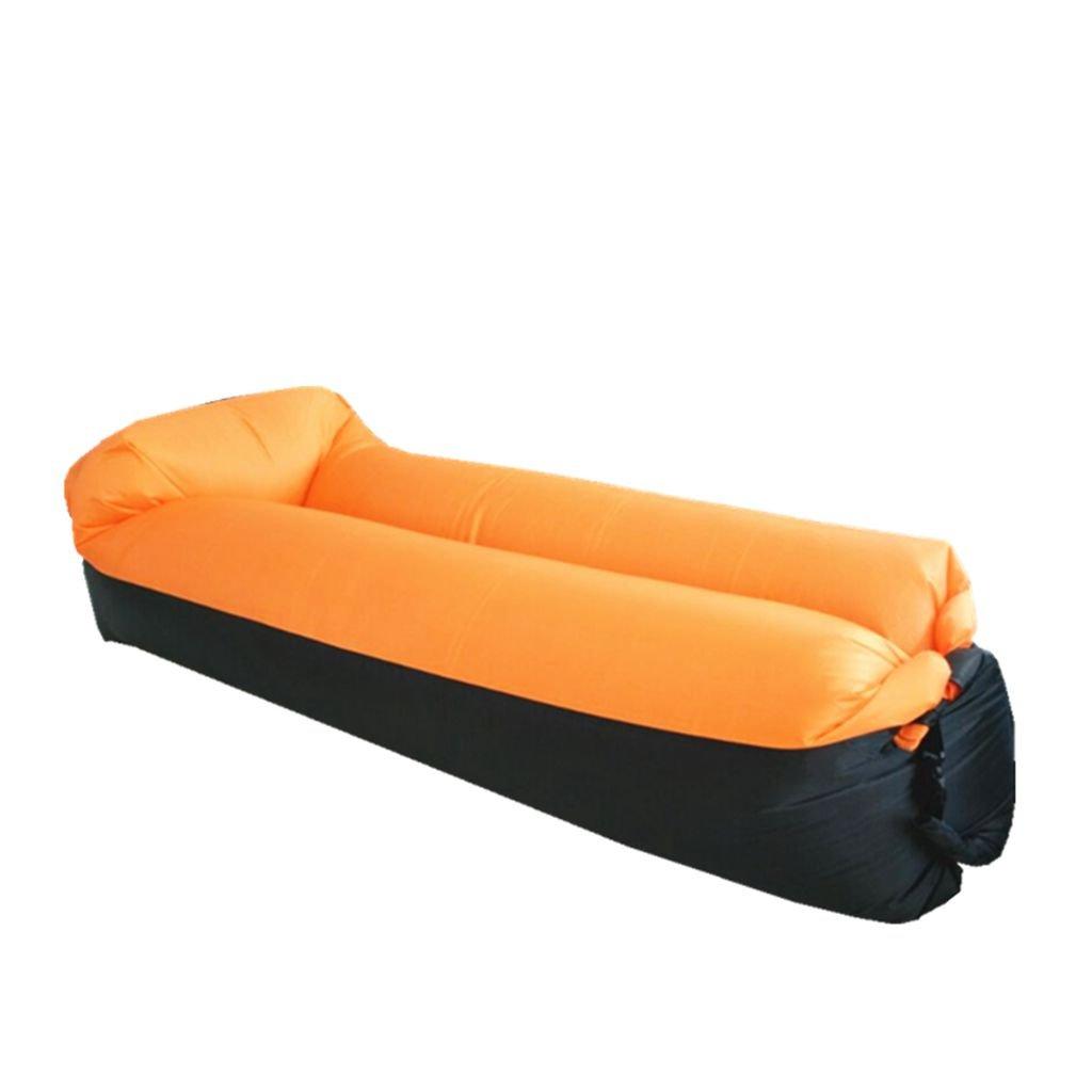 playa acampar patio trasero parque GuDoQi Sof/á inflable de 190T//210D Nylon port/átil camas de aire impermeable sof/á sof/á cama para viajar
