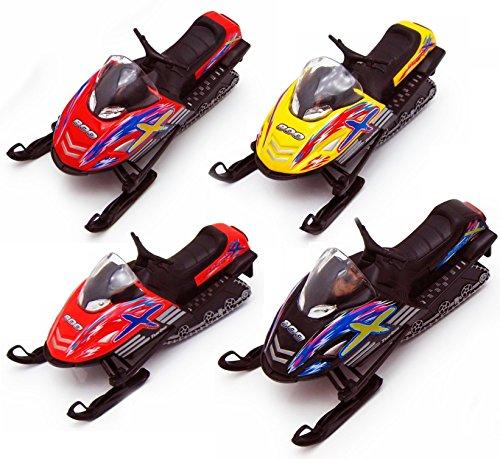 Die-cast Snowmobile Toy (1-pc Random Color) (Diecast Toy)