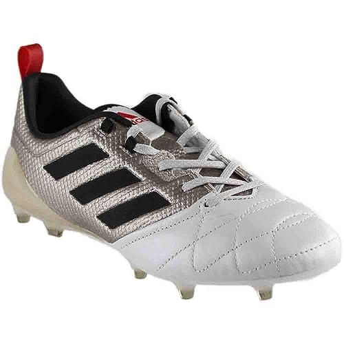 Adidas Ace 17.1 FG Womens Soccer Cleats 7.5 Platinum Metallic-Black ... c7483a612