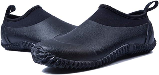 gracosy Rain Boots for Women Men, Waterproof Garden Shoes Beach Water Shoes Lightweight Walking Sneaker