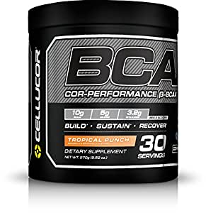 Cellucor, BCAA Supplement, Tropical Punch, 30 Servings