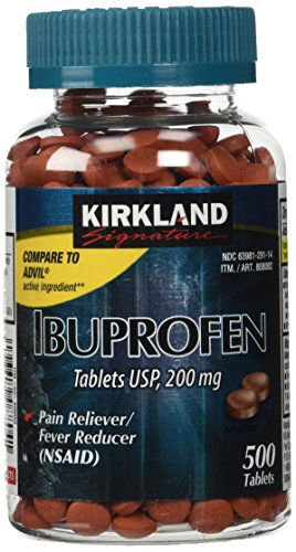 Kirkland Signature Ibuprofen Tablets Usp  200Mg 500 Tablets