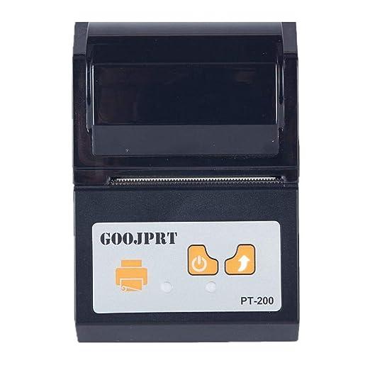 Mini Impresora térmica inalámbrica Bluetooth 58 mm Recibo USB ...