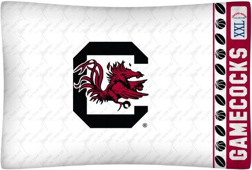 NCAA South Carolina Fighting Gamecocks Micro Fiber Pillow Case Logo
