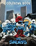 THE SMURFS: Coloring Book for Kids and Adults - 60 illustrations