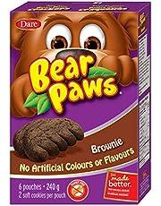 Bear Paws Dare Brownie Cookies, 6 Pouches per Box - 240g
