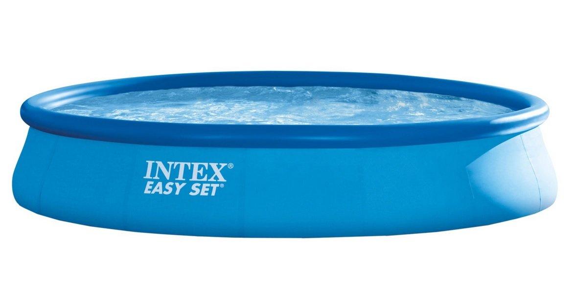 INTEX Easy Set Círculo 9792L Azul - Piscina (Círculo, 9792 L, Azul, Verano, 6 año(s), 2006 l/h): Amazon.es: Jardín