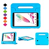 LG G Pad F 8.0/G Pad II 8.0 Kids Case - LTROP Protective Light Weight Shock Proof Convertible Handle Stand Case Cover for LG G Pad F 8.0/G Pad II 8.0 Tablet - Blue